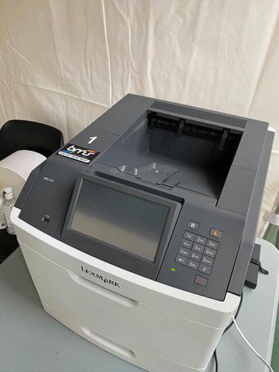 imprimante BMS