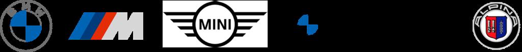 logo BMW, MINI